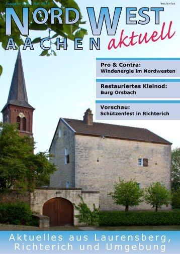 Ausgabe 010 - Mai 2011 - Euregio-Aktuell.EU