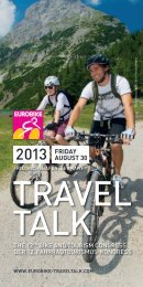 EUROBIKE TRAVEL TALK 2013