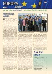 Ausgabe 4-2013 - Europa-Union Deutschland e.V.