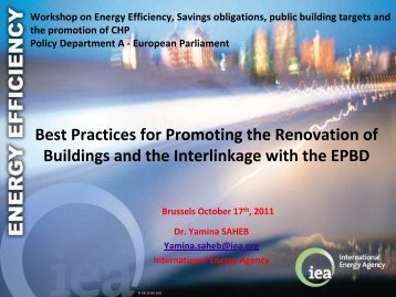 Best Practices for Promoting the Renovation of Buildings and the ...