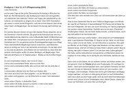 Predigt über 1. Kor 12, 4-11