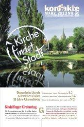 Ausgabe März/2013 - Evangelische Gesamtkirchengemeinde ...