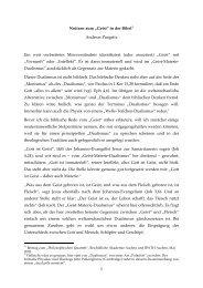 """1 Notizen zum """"Geist"""" in der Bibel*) Andreas Pangritz Ein weit ..."""