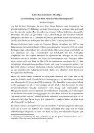 1 Talmud und christliche Theologie. Zur Erinnerung an das Werk ...