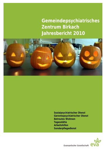 Gemeindepsychiatrisches Zentrum Birkach Jahresbericht 2010 ... - eva