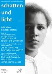 schatten und licht 2/2013 schatten und licht 2/2013 - eva