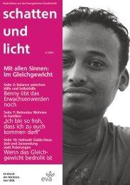 schatten und licht 3/2013 schatten und licht 3/2013 - eva