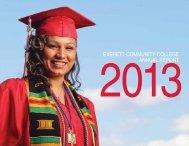 Annual Report 2013 - Everett Community College