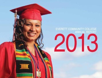 Annual Report 2013 - Everett Community College