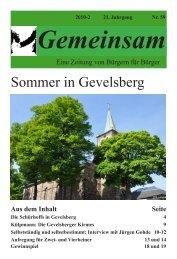 Gemeinsam Ausgabe II - der evangelischen Kirchengemeinde ...