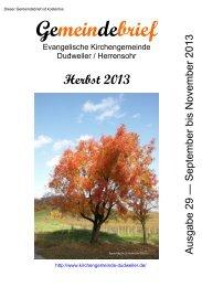 + PDF (1) Download - Evangelische Kirche im Saarland