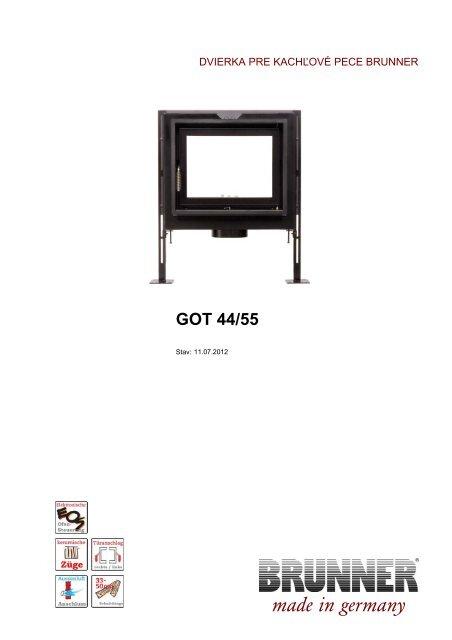 GOT 44/55 made in germany - Brunner