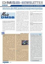 """Online-Service """"Mein DMSB"""" demnächst mit ... - EWO-Motorsport"""