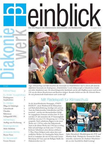 Ausgabe 02/13 - Ev. Kliniken Gelsenkirchen