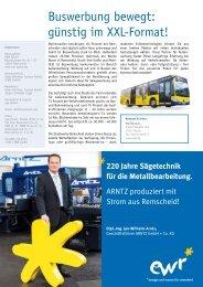 Ausgabe 02.2013 herunterladen - EWR GmbH
