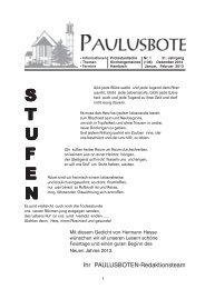 S T U F E N - Evangelische Kirche der Pfalz