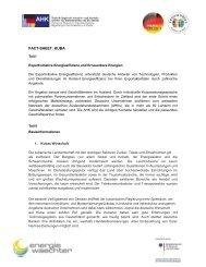 PDF: 297,4 KB - Exportinitiative Erneuerbare Energien