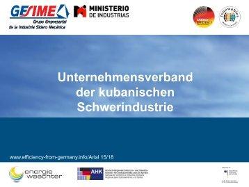 PDF: 843,6 KB - Exportinitiative Erneuerbare Energien