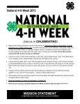 4-H MOTIVATOR Dates to Remember October 2013 - Iowa State ... - Page 3