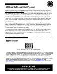 4-H MOTIVATOR Dates to Remember October 2013 - Iowa State ... - Page 4