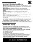 4-H MOTIVATOR Dates to Remember October 2013 - Iowa State ... - Page 6