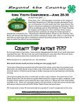 June Newsletter - Iowa State University Extension and Outreach - Page 6