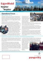 Issue 1 - ExxonMobil