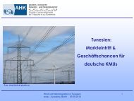 PDF: 1,3 MB - Exportinitiative Erneuerbare Energien - BMWi