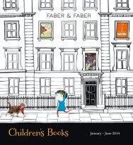 Children's New Titles Spring 2014 - Faber and Faber