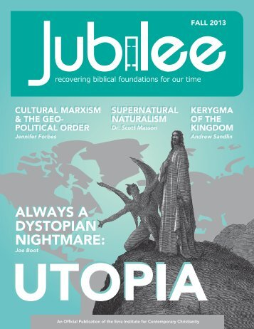 Jubilee - Fall 2013 - Ezra Institute for Contemporary Christianity