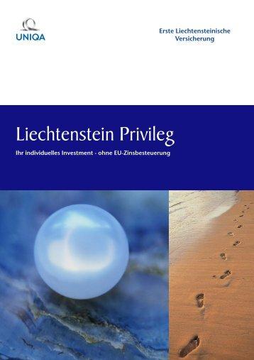 Liechtenstein Privileg