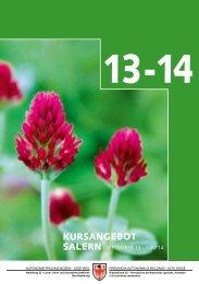 können Sie die Kursbroschüre 2013/14 herunterladen.