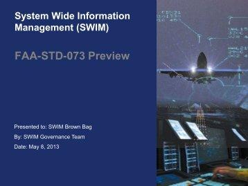 Infrastructure Roadmap Kickoff Meeting - FAA