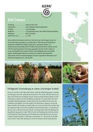 Del Campo (JL Farbe).indd - Fair Trade