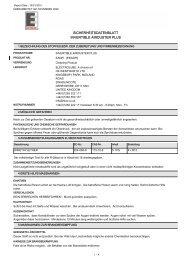sicherheitsdatenblatt invertible airduster plus - Farnell