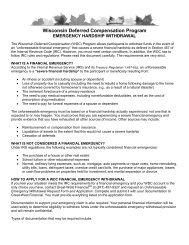 Wisconsin Deferred Compensation Program s - FASCore