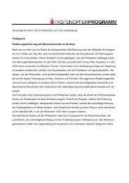 Texte und Prospekt - Fastenopfer