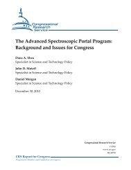 The Advanced Spectroscopic Portal Program - Federation of ...