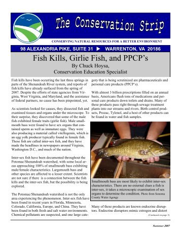 Summer 2007 Newsletter - Fauquier County