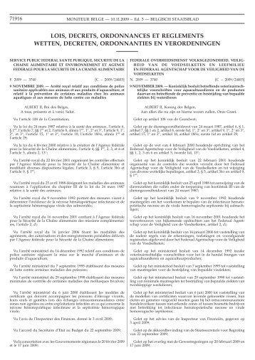 Staatsblad Moniteur - Favv