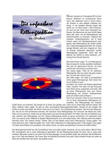 Die unfassbare Rettungsakt Rettungsaktion - Fbg-gmuend.de
