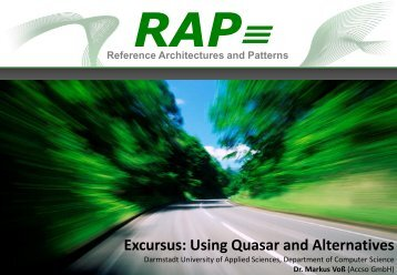 Quasar in software engineering
