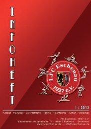 Der FCE Terminplaner - 1. FC Eschenau 1927 eV