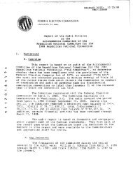 Arrangements Committee of the Republican National Committee for ...