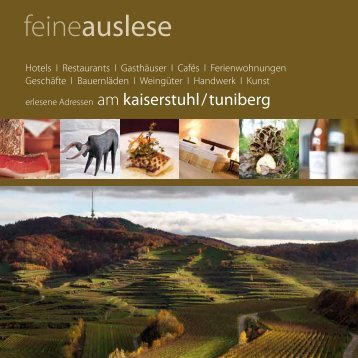 Download feineauslese Kaiserstuhl 2013 / 2014 PDF (ca. 3,2 MB)
