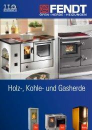 Holz-, Kohle- und Gasherde - Eisen Fendt GmbH