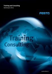 Seminarplaner CH-De 2014 - Festo Didactic