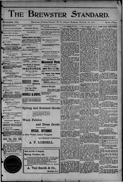 1901-10-18b - Northern New York Historical Newspapers