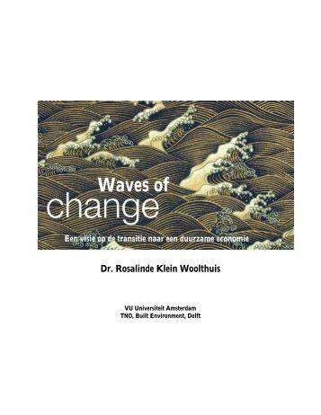 11-11-09 Transitie duurzame economie - Feweb
