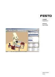 Handbuch COSIMIR Industrial 4.1 DE/EN (pdf/3 MB) - Festo Didactic